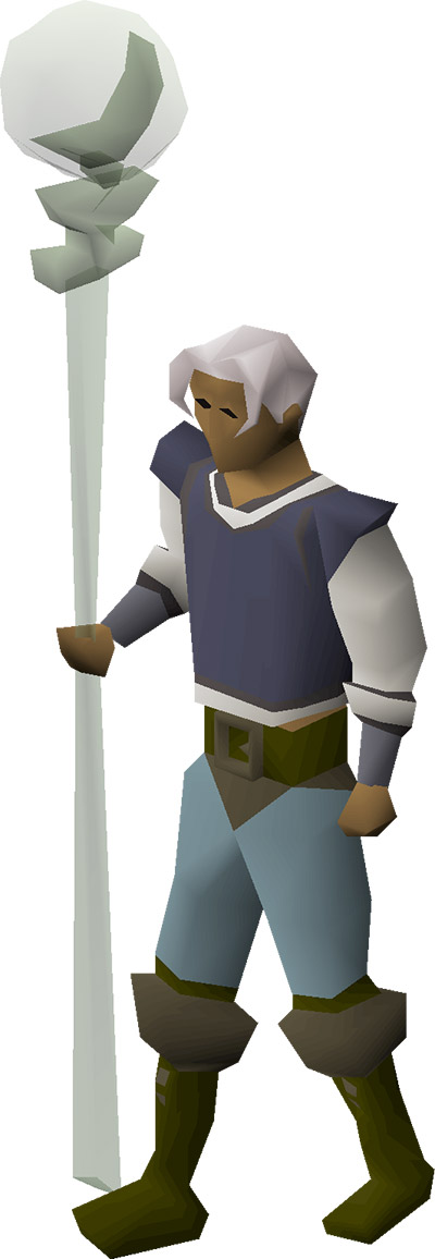 Staff of the Dead render from OSRS