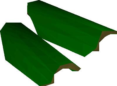 Green d'hide Vambraces Render