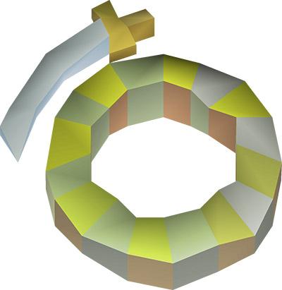 Warrior Ring OSRS Render
