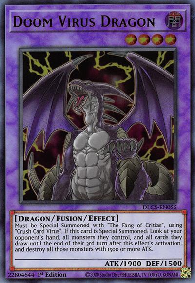 Doom Virus Dragon Yu-Gi-Oh Card