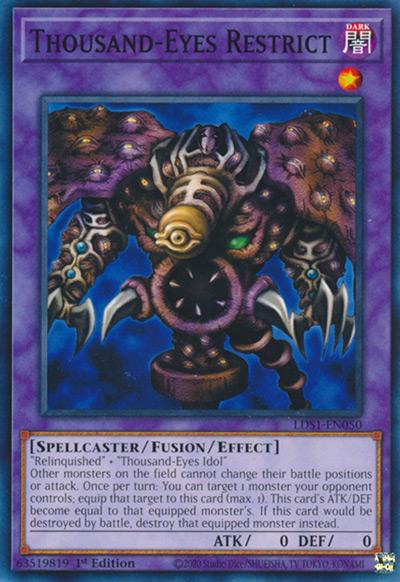 Thousand Eyes Restrict Yu-Gi-Oh Card