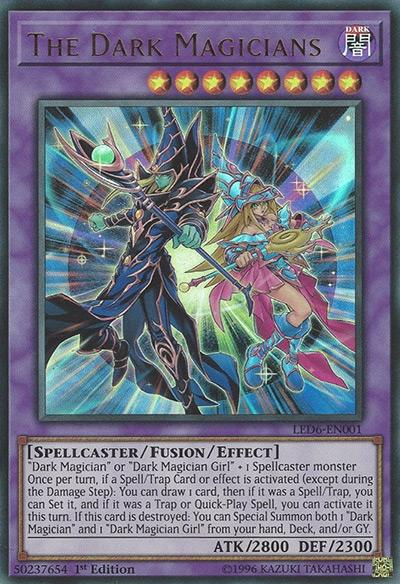 The Dark Magicians Yu-Gi-Oh Card
