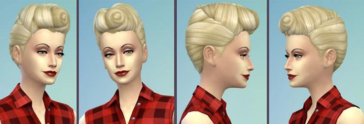The '50s Hair Sims 4 CC