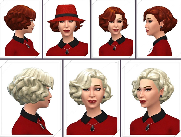 Lazy Curls for Sims 4