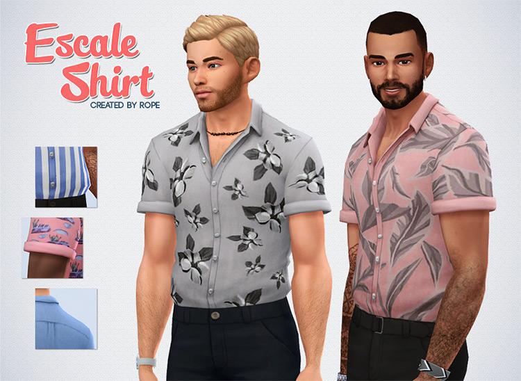 Escale Shirt Sims 4 CC