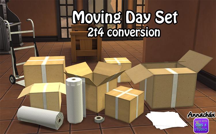 Moving Day Box Set / TS4 CC