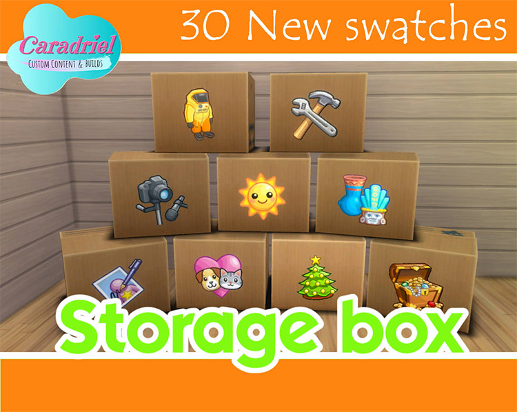 Storage Box for Sims 4