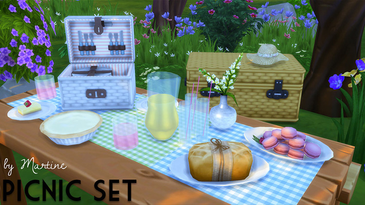 Picnic Set CC Preview for Sims 4