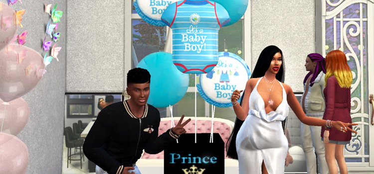Gender Reveal Party Preview from The Sims 4