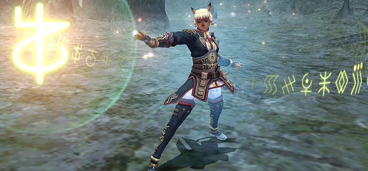 FFXI Rune Fencer Promo Screenshot in HD
