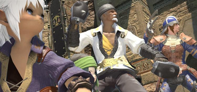 Party Battle Stance in Final Fantasy XIV