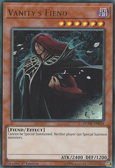 Vanity's Fiend Yu-Gi-Oh Card