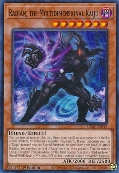 Radian, The Multidimensional Kaiju YGO Card