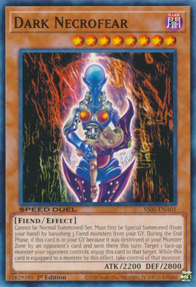 Dark Necrofear YGO Card