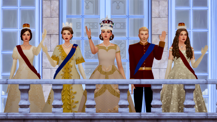Coronation Pack Sims 4 CC