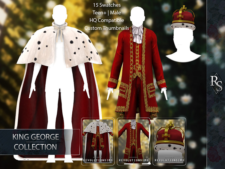 King George Collection for Sims 4