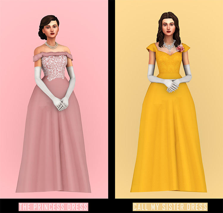 Princess Margaret Pack for Sims 4