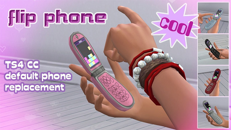Flip Phone for Sims 4
