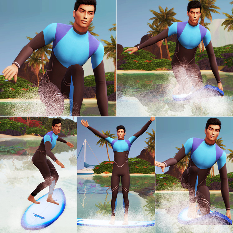 Surf Weekend! Sims 4 CC