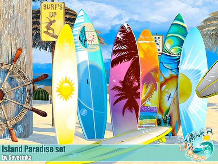 Island Paradise Set for Sims 4