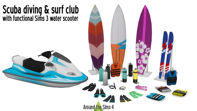 Scuba Diving & Surf Club TS4 CC