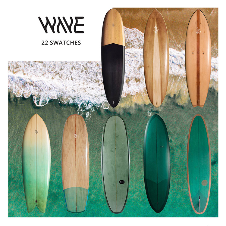 Wave Surfboard for Sims 4