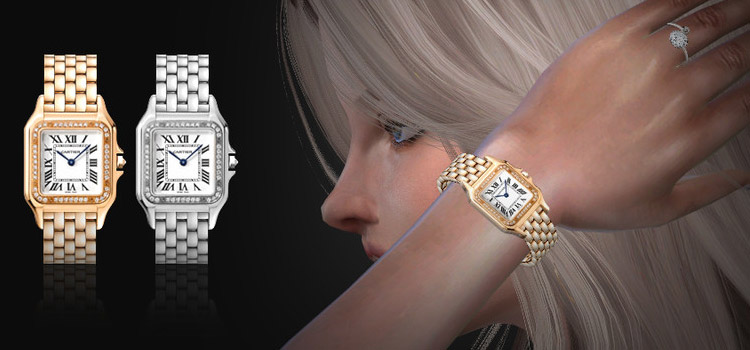 Girl Watch Rolex CC in The Sims 4