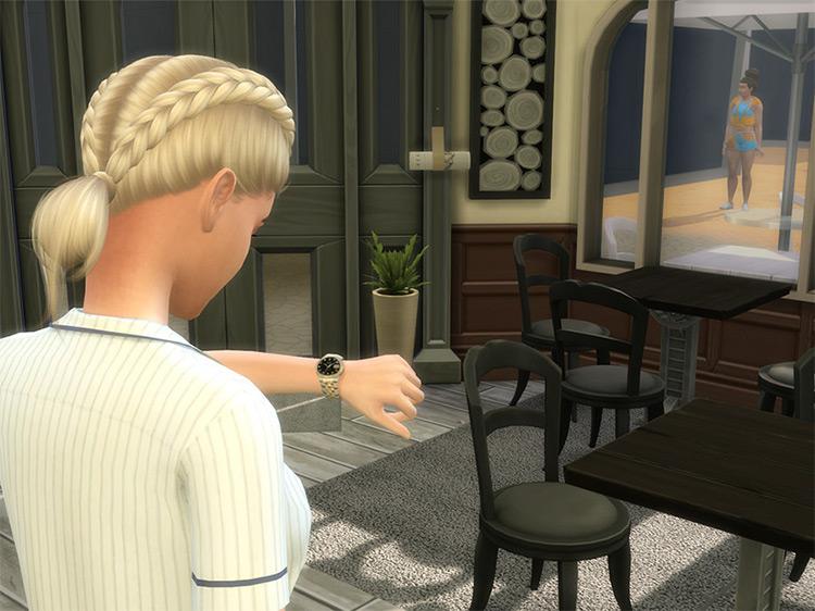 Rolex Datejust II Sims 4 CC