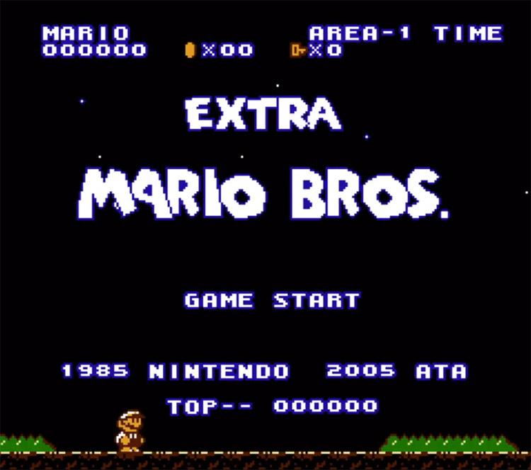 Extra Mario Bros Hack Screenshot