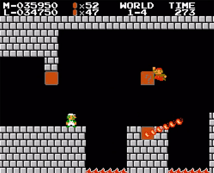 Two-Player Hack For SMB1