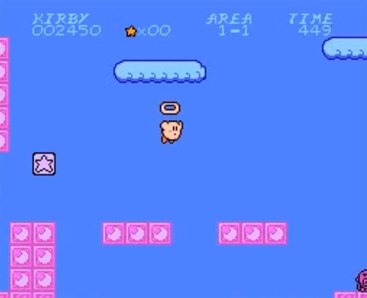 SMB1 ROM Hack / Kirby's Adventure 2