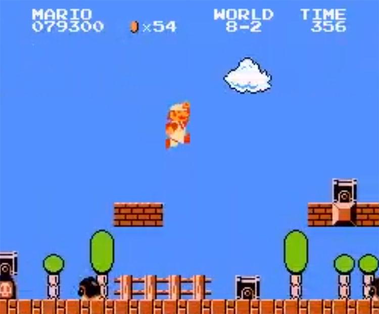 Super Mario Bros: Time & Place ROM Screenshot