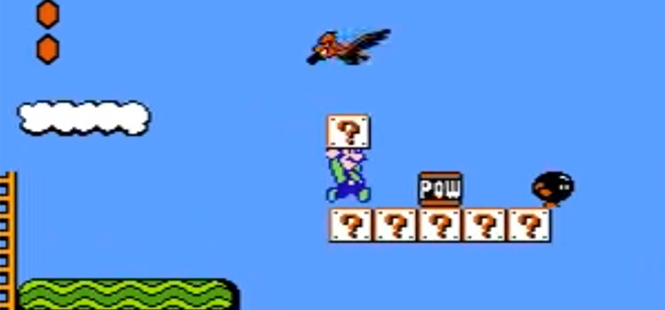 Luigi in SMB2 Master Quest Romhack