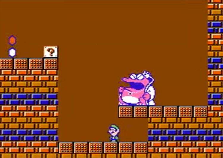 Super Mario Bros. 2: Master Quest Hack Screenshot
