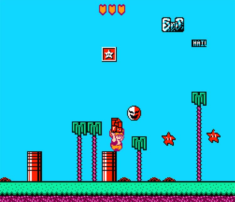 SMB2 Turbo Edition ROM Hack Screenshot