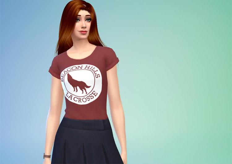 Beacon Hills Wolf School Shirt CC