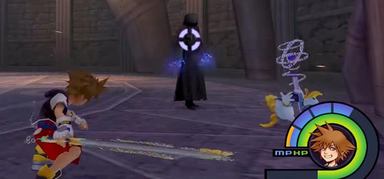 Enigmatic Man/Unknown Boss Battle in KH 1.5 HD