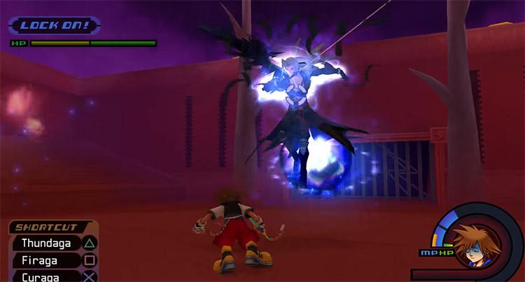 Sephiroth Battle in KH 1.5 HD