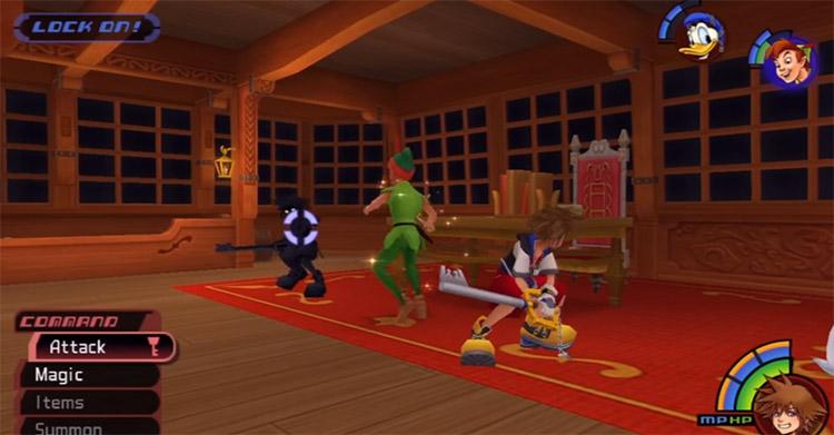 Anti-Sora Boss Battle in KH 1.5