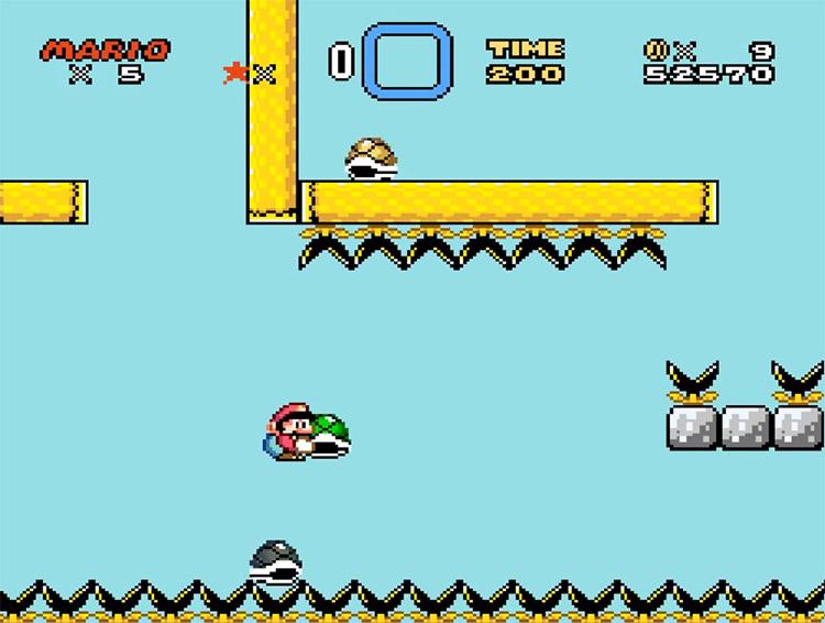 Kaizo Mario World 3 ROMHack Screenshot