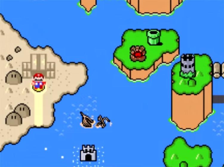 Grand Poo World 2 ROM Hack Screenshot