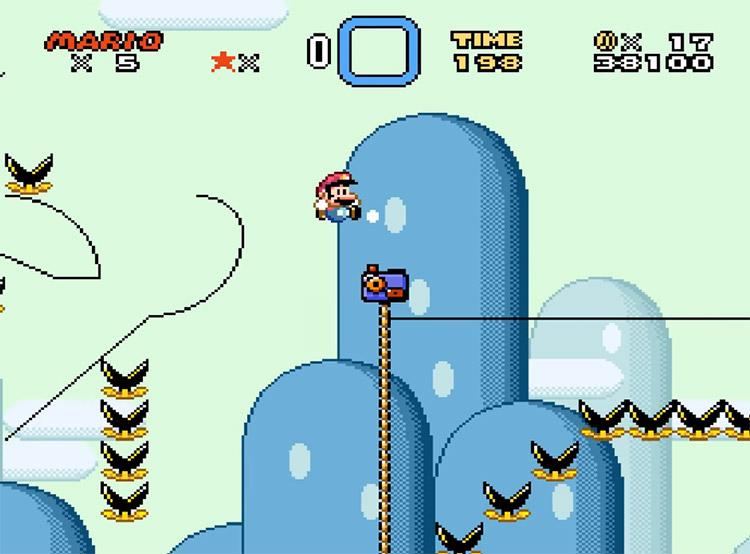 Kaizo Mario World 2 Hack Screenshot