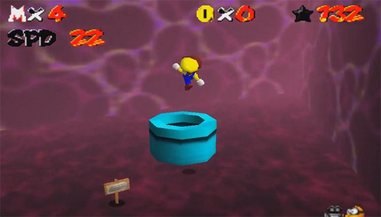 Super Mario 64: The Black Virus Hack