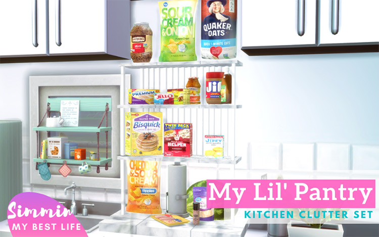 Kitchen Clutter for Sims 4