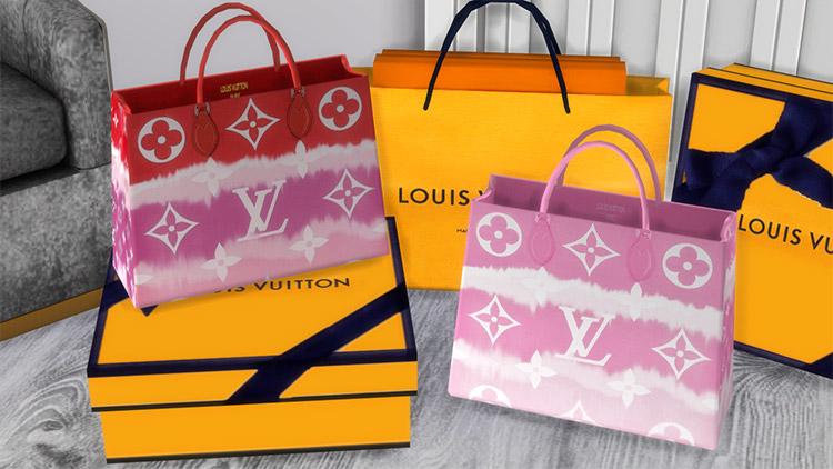 Louis Vuitton Tote Bag CC / TS4