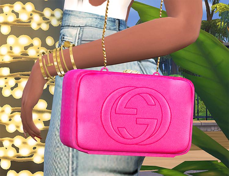 Gucci Soho Disco Bag CC for The Sims 4