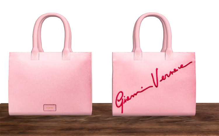 Versace Pastel Bags for The Sims 4