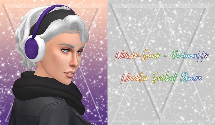 Custom earmuffs design for The Sims 4