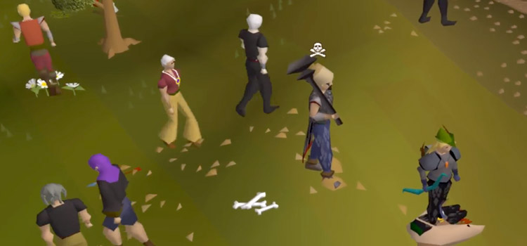 HD RuneScape PKing Characters