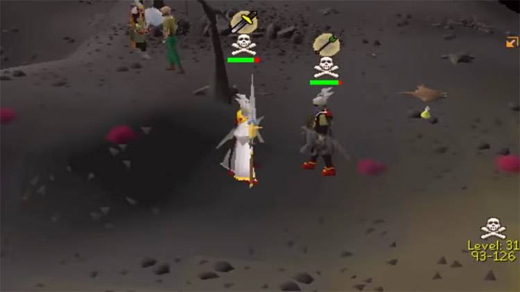 OSRS Tribrid Battle Screenshot